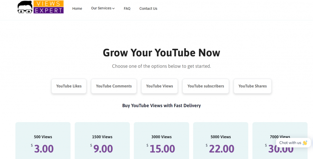 SocialPackages youtube views