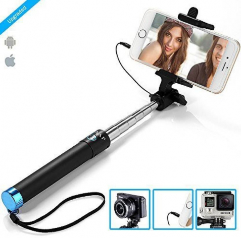 10 best selfie sticks 2017 available in india for android iphone. Black Bedroom Furniture Sets. Home Design Ideas