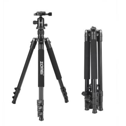 Zomei Q555 Lightweight Aluminum Alloy Camera Tripod