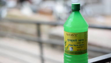 Patanjali Aloe Vera Juice Bottle