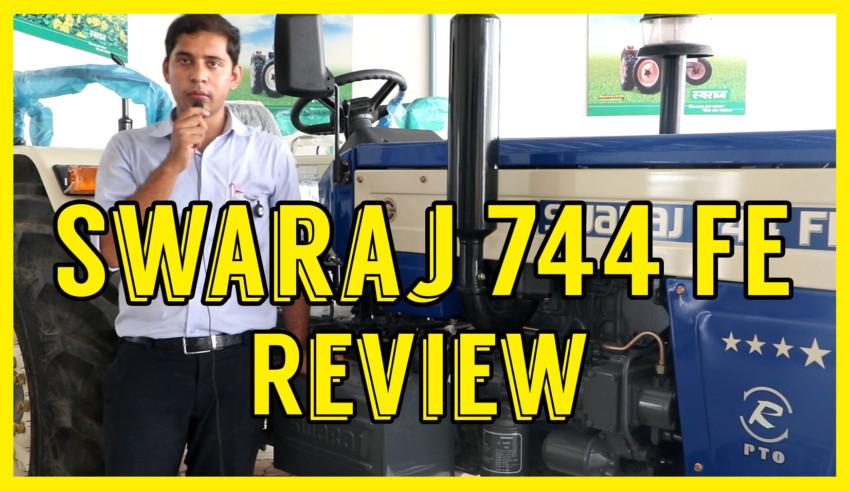 Swaraj 744 FE Review