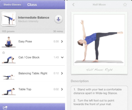 7 best free yoga apps for daily use android iphone 2019. Black Bedroom Furniture Sets. Home Design Ideas