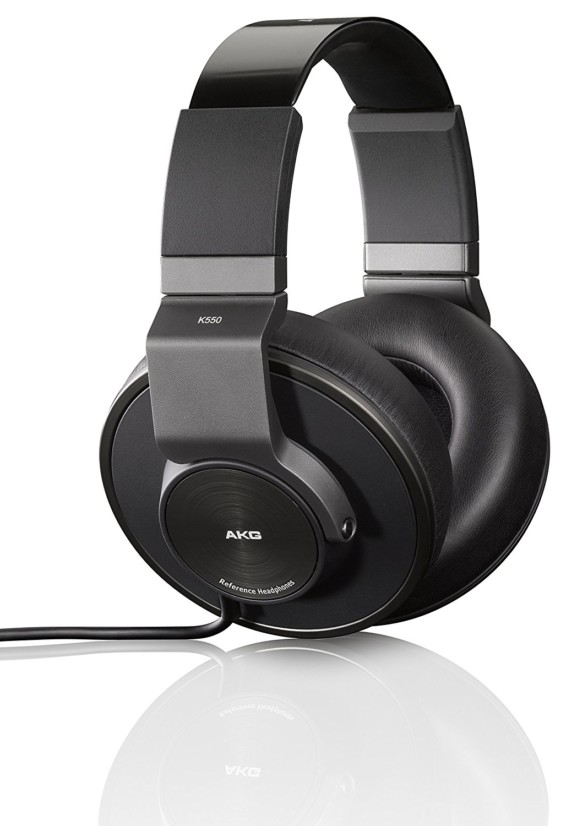AKG 550 Closed Back Reference Class Headphones