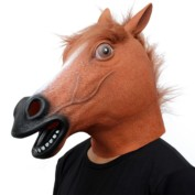 CreepyParty Novelty Halloween Costume Party Animal Head Mask