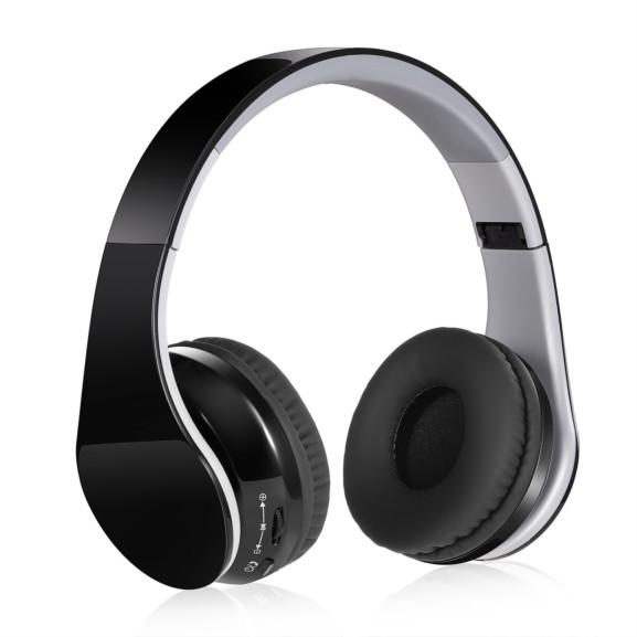 Haowokk Foldable Hi-Fi Stereo Over-Ear Headphones