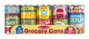 Melissa & Doug Let's Play House! Grocery Cans Play Food Kitchen Accessory