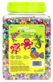 Perler Beads 22,000 Count Bead Jar