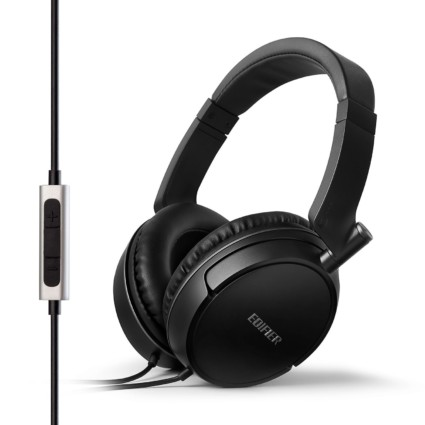 Edifier P841 Comfortable Noise Isolating Over-Ear Headphones With Microphone And Volume Controls