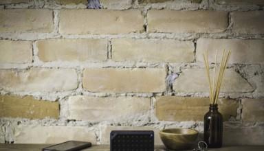 Bluetooth Speaker near wall