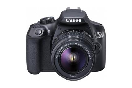 Canon 1300D with EF-S 18-55 mm IS II + EF-S 55-250 mm F4 5.6 IS II Lens