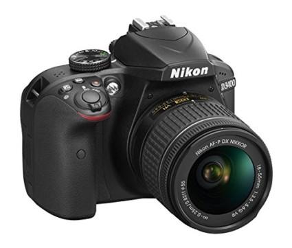 Nikon D3400 with 18-55mm Nikkor AF-P Lens