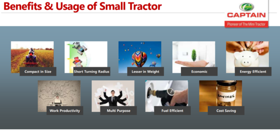 benefits of small tractor