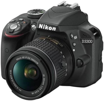 Nikon D3300 with 18-55mm Nikkor AF-P Lens