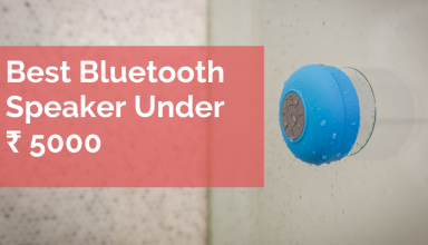 Bluetooth speakers under ₹5000