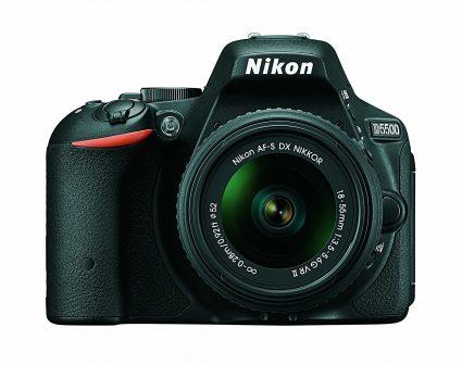 Nikon D5500 with Nikon AF-P Nikkor 18-55mm VR kit lens
