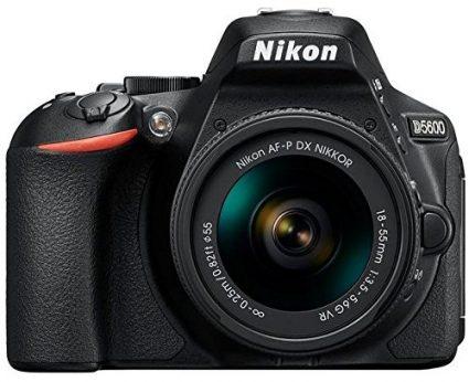 Nikon D5600 with 18-55mm VR Kit lens