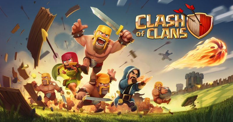 Clash Of Clans multiplayer games