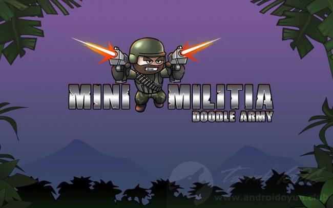 Mini Militia : Doodle Army multiplayer games