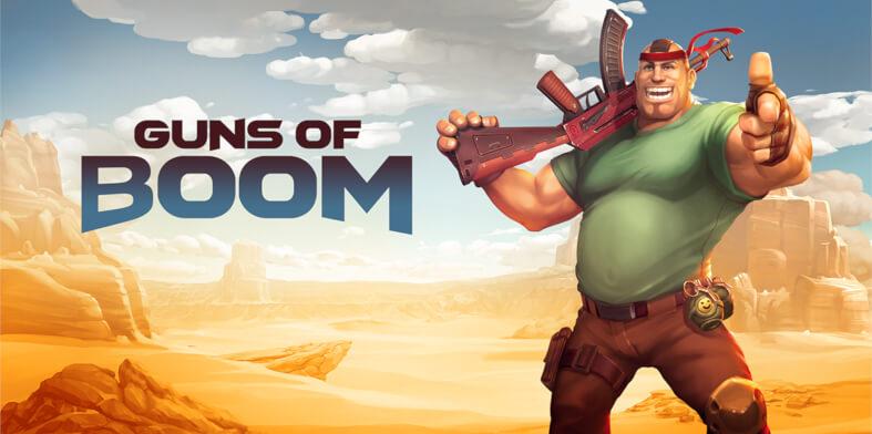 Guns of boom multiplayer games