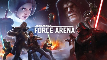 Star wars Force Arena multiplayer games