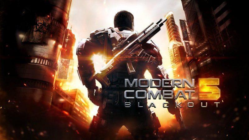Modern combat 5 multiplayer games