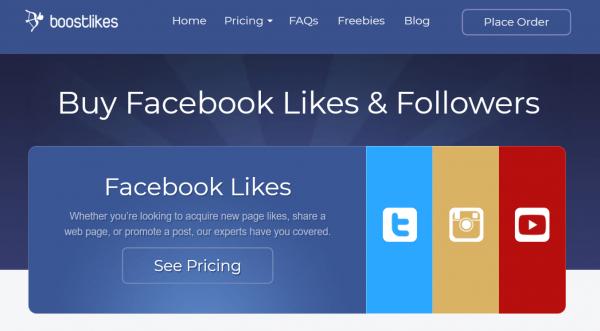 Boostlikes - buy facebook likes