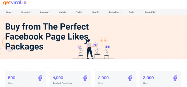 GetViral - Best Site to buy Facebook Likes