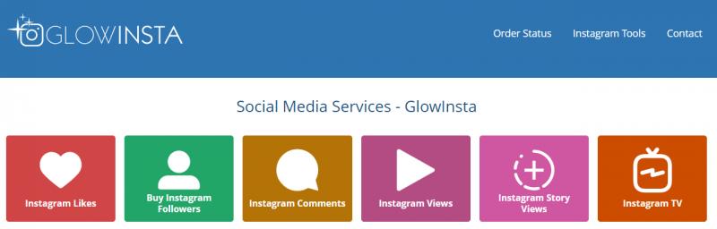 Glowinsta - site to buy instagram followers