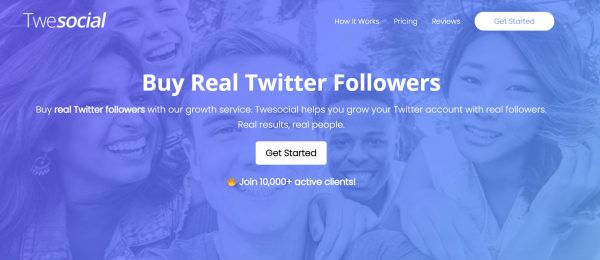 Twesocial - buy twitter followers