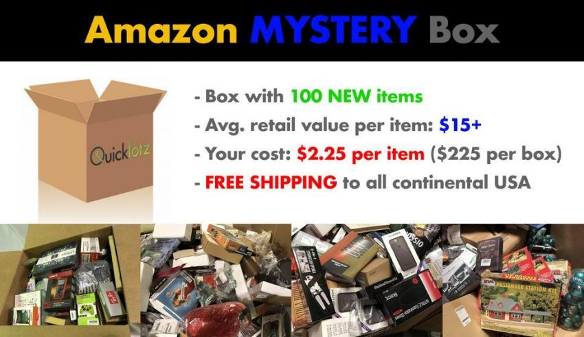 Quicklotz S Amazon Mystery Box Unboxing Review 2020