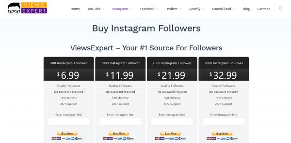 viewsexpert instagram - site to buy instagram likes