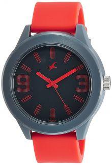Fastrack Analog Black Dial Men's Watch-NG38003PP08C