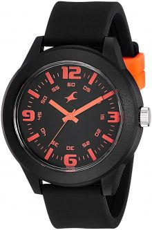 Fastrack Analog Black Dial Unisex Watch-NG38003PP13C