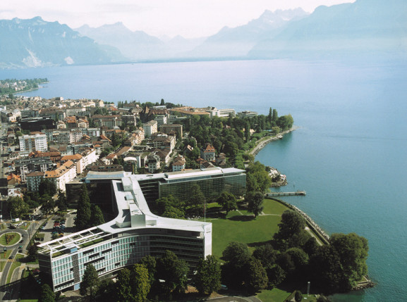 Nestle's headquarters, Vevey, Vaud, Switzerland