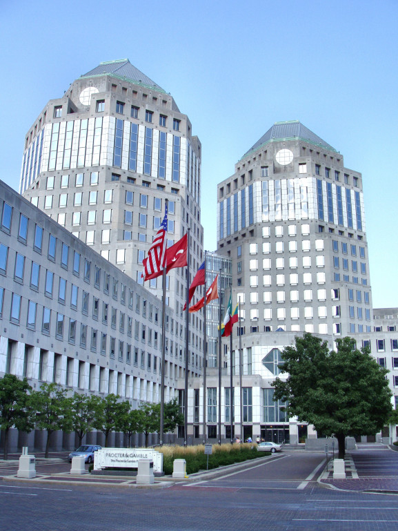 Procter and Gamble headquaters.
