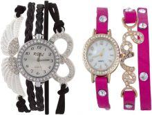SOOMS RSOL Angel's Wings Lucky Charm Bracelet Silver Diamond Studded