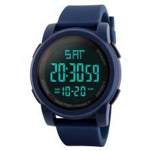 Skmei Digital Multi-functional Blue Outdoor Sports Watch for Men's & Boys