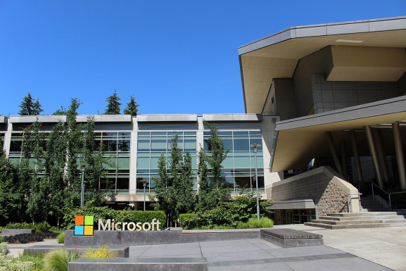 Microsoft head office, Redmond, Washington