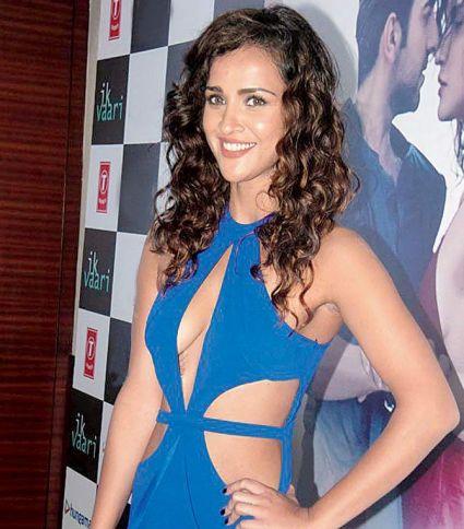 Aisha Sharma in Blue