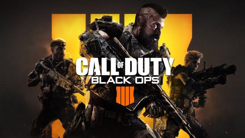 Call of Duty: Black ops 4 - Blackout Game like Fortnite