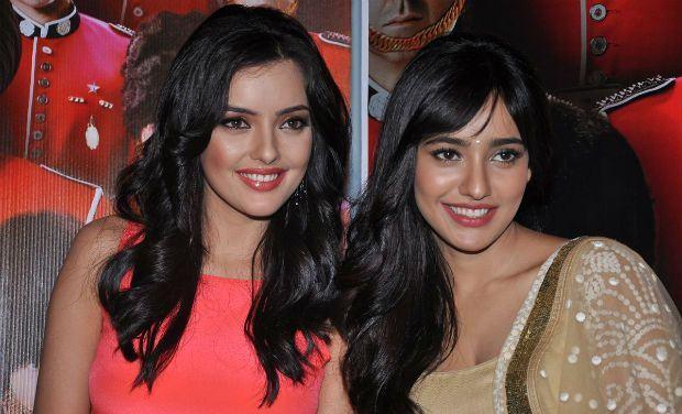 Aisha Sharma with her sister