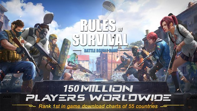 Rules Of Survival Game like Fortnite