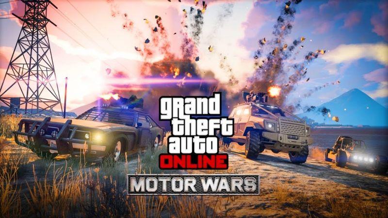 GTA V: Smuggler's Run & Online's Motor Wars