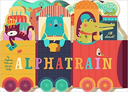 Alphatrain Alphabet Book