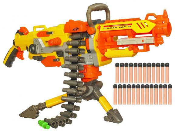 Nerf Hasbro N-Strike Elite Vulcan/Havok Fire Ebf 25 Dart Blaster