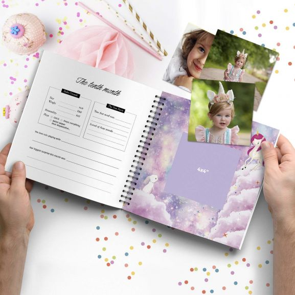 Personalized Baby Photo Album