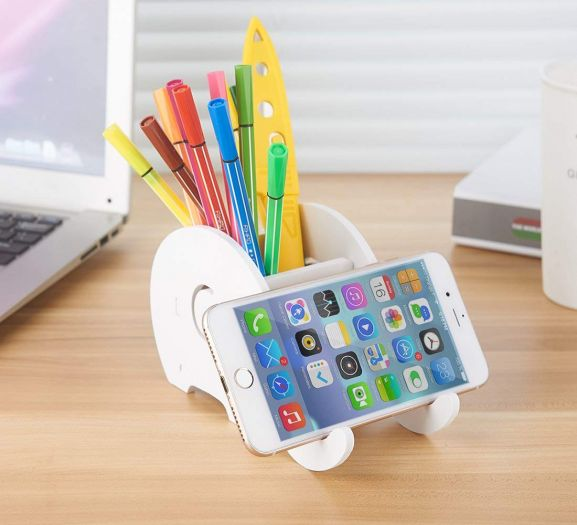 Pen and Phone Stand