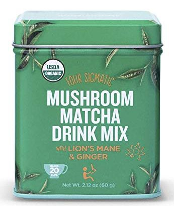 Four Sigmatic Mushroom Matcha Tea Drink Mix