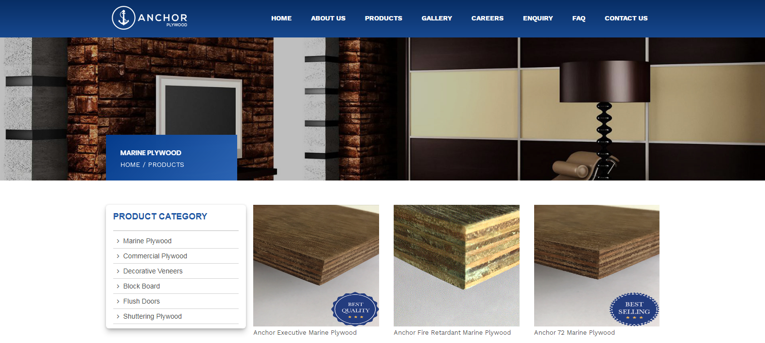 Anchor Plywood Brand Best Plywood Brand Available in India