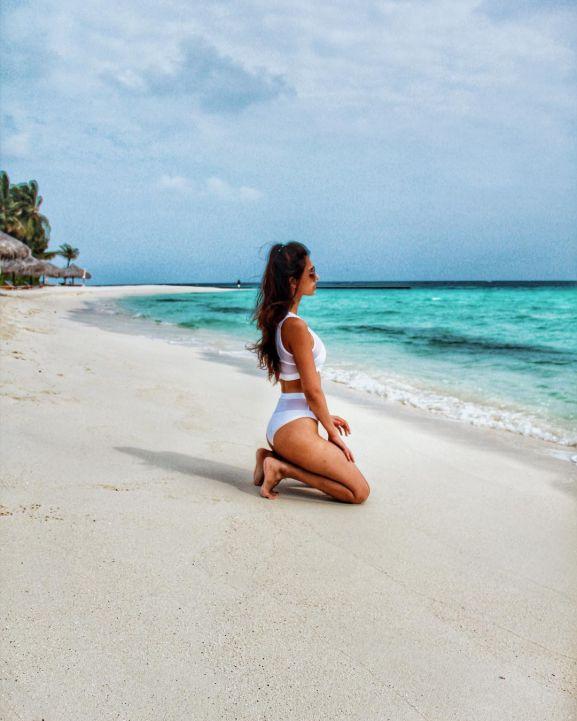 DIsha Patani vacation